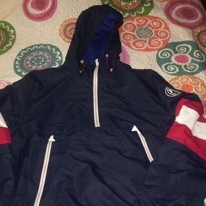 Perry Ellis Pullover Hooded Jacket